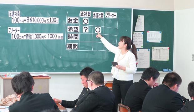 箕島高校実施風景